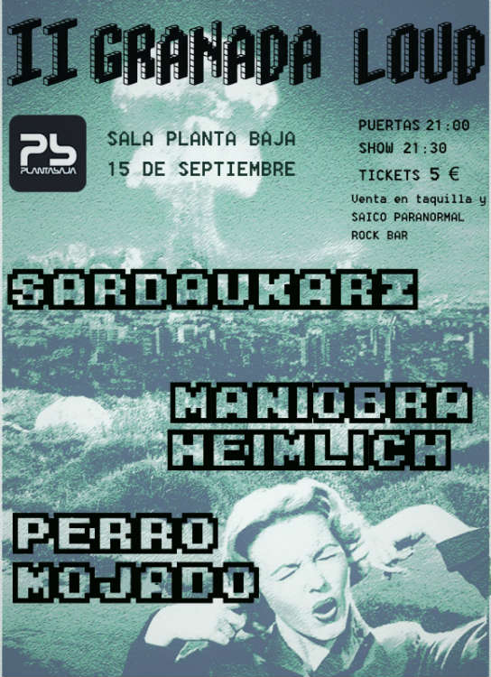 II Granada LOUD - Planta Baja (15/09/18)