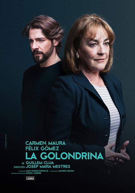 La Golondrina. Carmen Maura - Teatro Isabel la Católica (5,6/10/18)