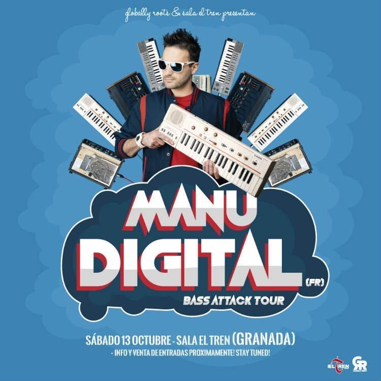 Manudigital - Sala El Tren (13/10/18)