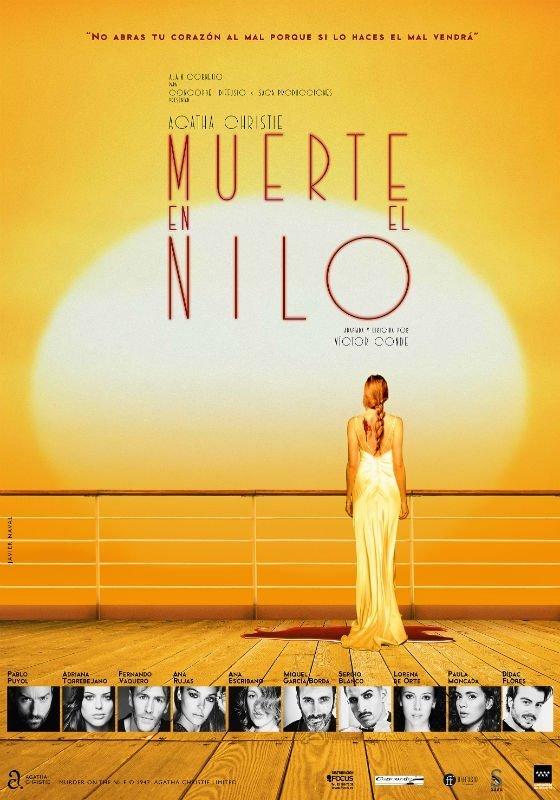 Muerte en el Nilo Teatro Isabel la Católica Granada