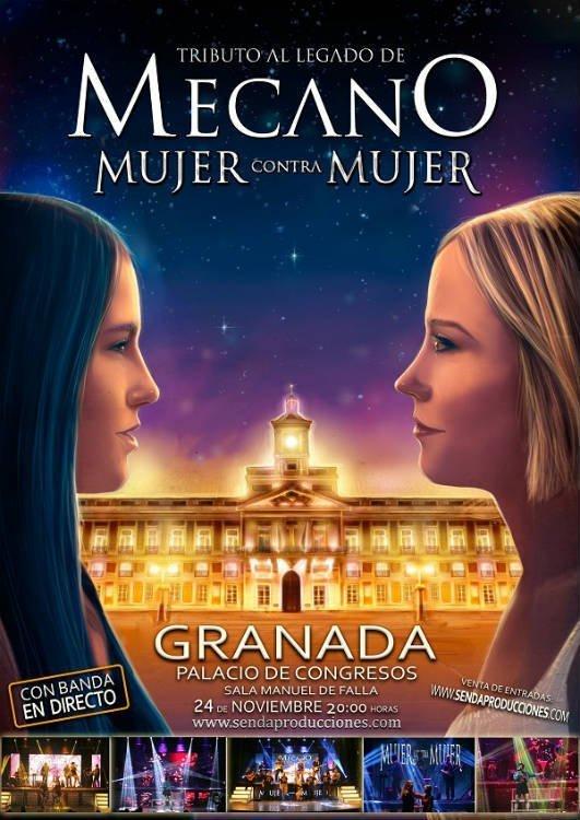 Mujer contra Mujer. Tributo al Legado de Mecano. Palacio de Congresos Granada