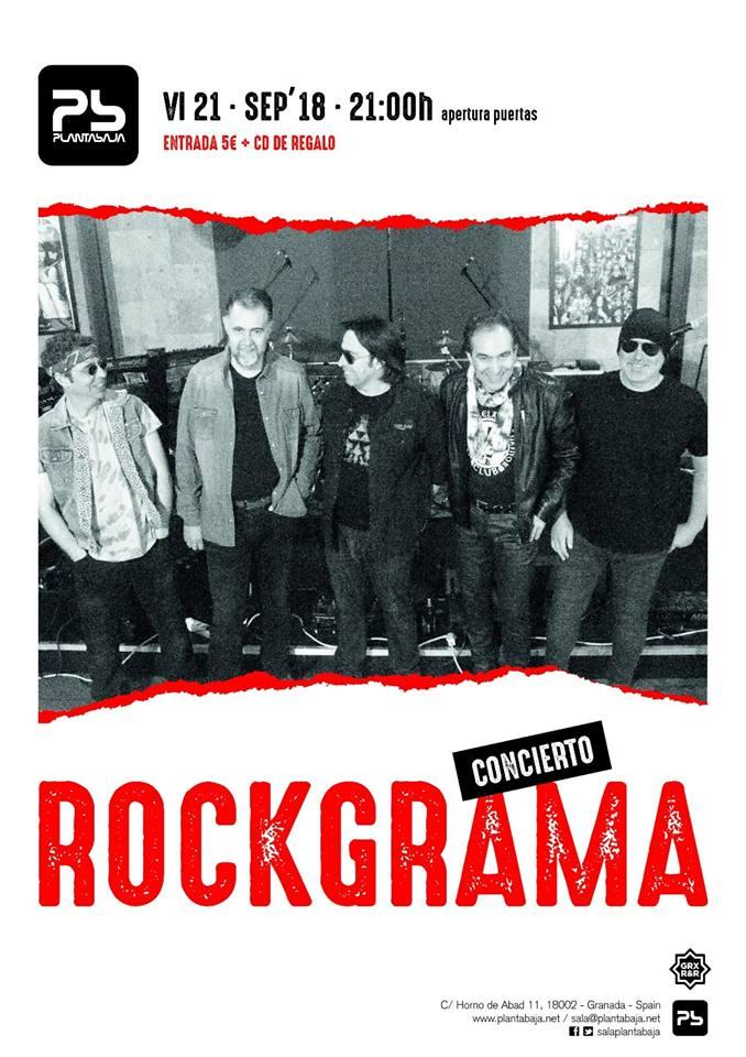 Rockgrama - Planta Baja (21/09/18)