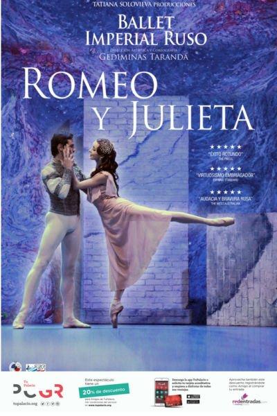 Romeo y Julieta - Ballet Imperial Ruso - Palacio de Congresos (14/12/18)