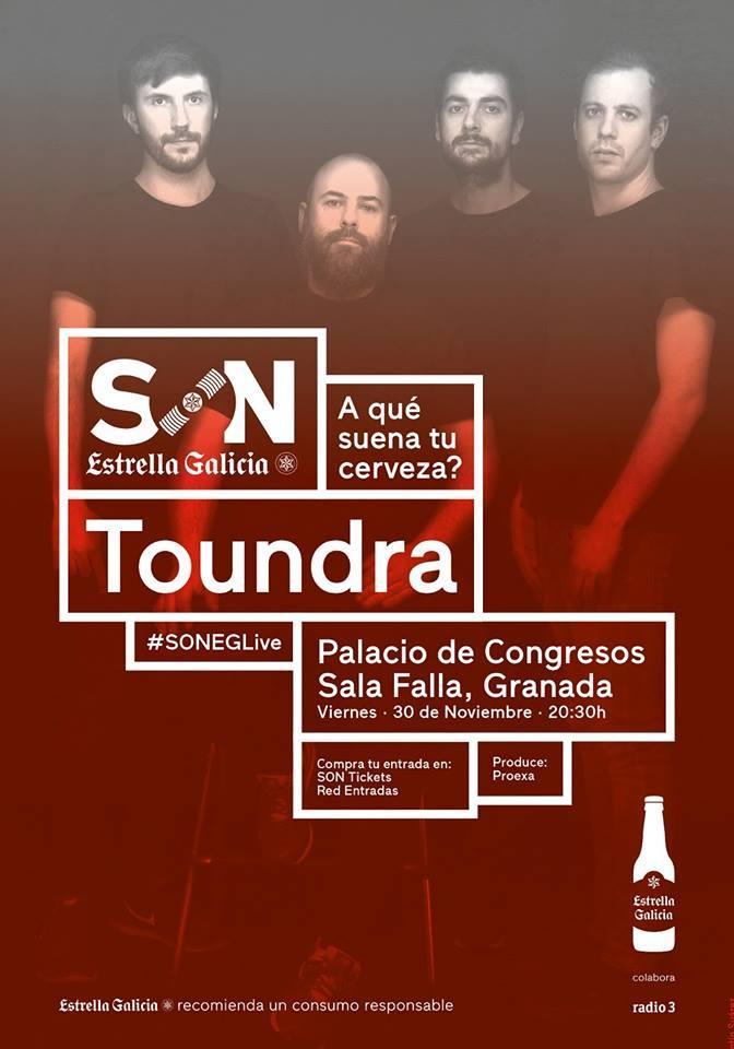Toundra - Palacio de Congresos (30/11/18)