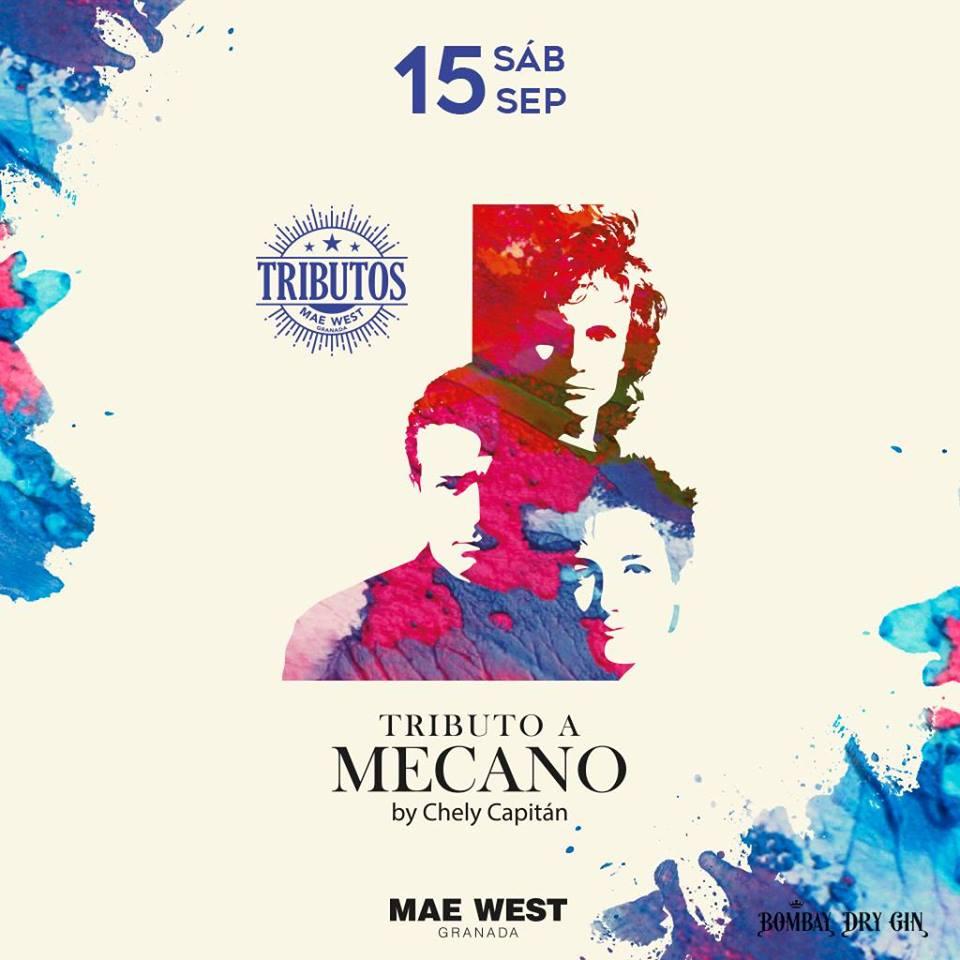 Tributo a Mecano - Mae West (15/09/18)
