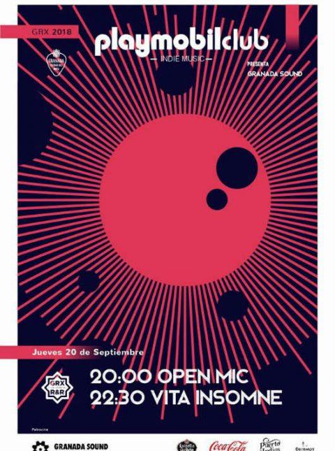 Vita Insomne + Open Mic - Playmobil Club