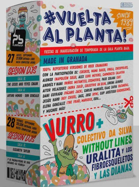 Vuelta al Planta 2018 - Planta Baja