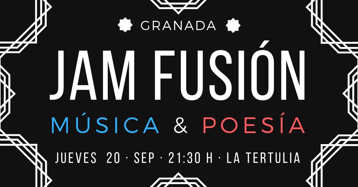 XI Jam Fusión música y poesía - La Tertulia (20/09/18)