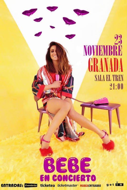 BEBE - Sala El Tren (23/11/18)