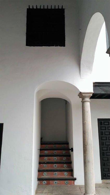 La que fue escalera principal en el siglo XVI