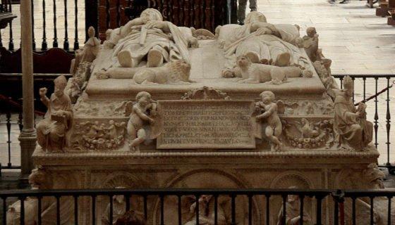 Cenotafio de los Reyes Catolicos. Capilla Real Granada.