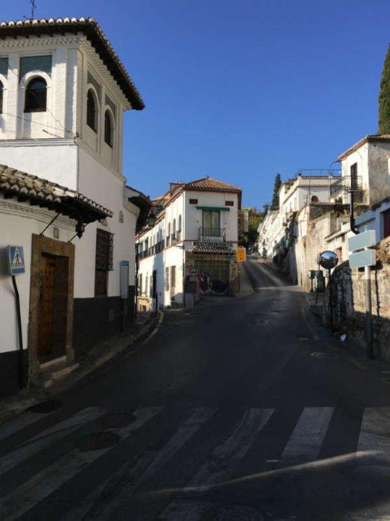 Inauguracion del tranvía de la cremallera a la Granada