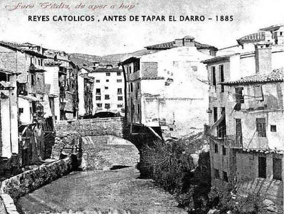 Desbordamiento del río Darro en época Nazarí Granada