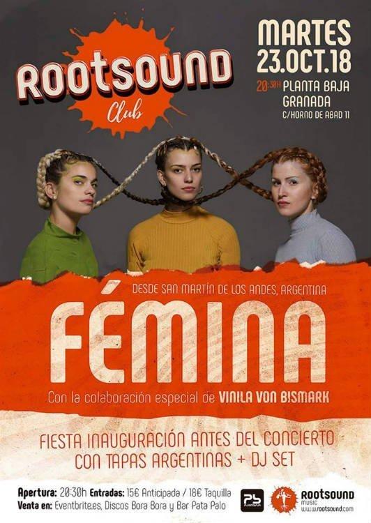 Fémina - Planta Baja (23/10/18)