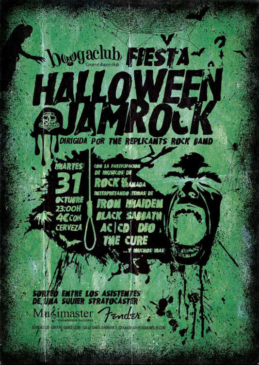 Fiesta Halloween Jamrock - BoogaClub (31/10/18)