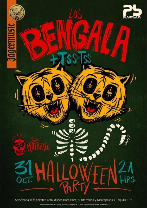 Halloween Party Los Bengala + Tss-Tss - Planta Baja (31/10/18)