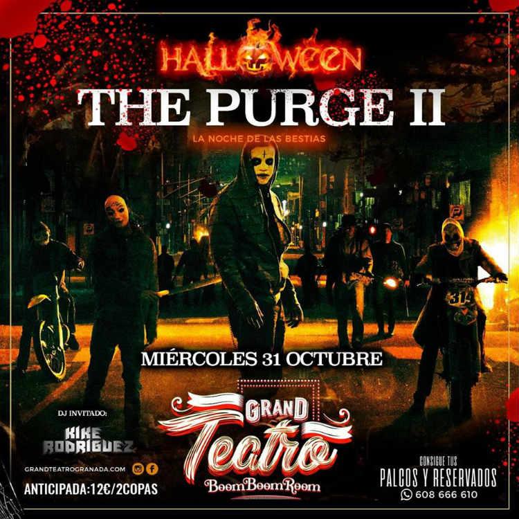 Halloween The Purge - Boom Boom Room (31/10/18)