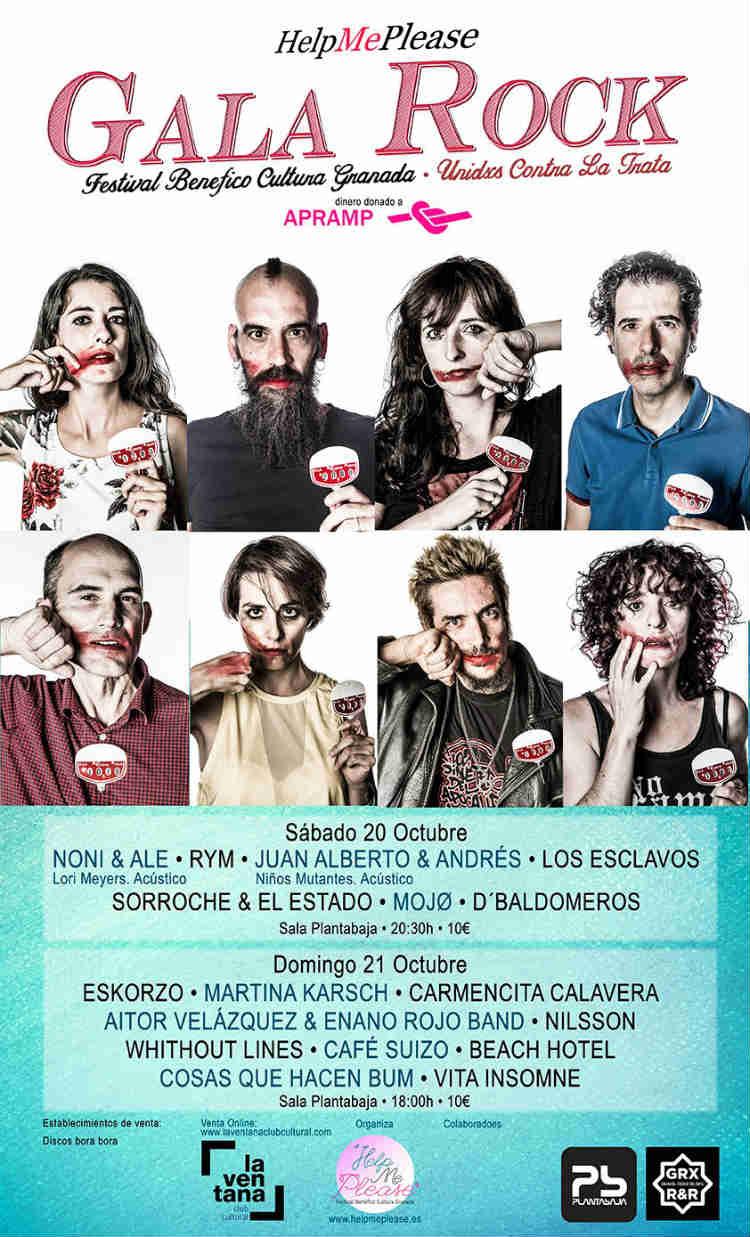 Help Me Please 2018. Festival Benéfico - Planta Baja (20,21/10/18)