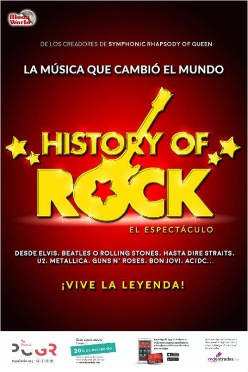 History of Rock - Palacio de Congresos (15/11/18)