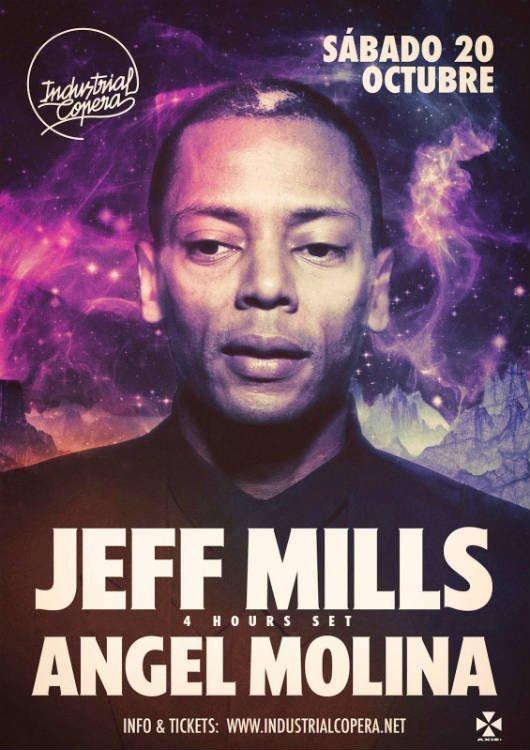 Jeff Mills - Industrial Copera (20/10/18)