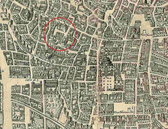 La Iglesia de Santiago y El Tribunal de la Inquisición Granada