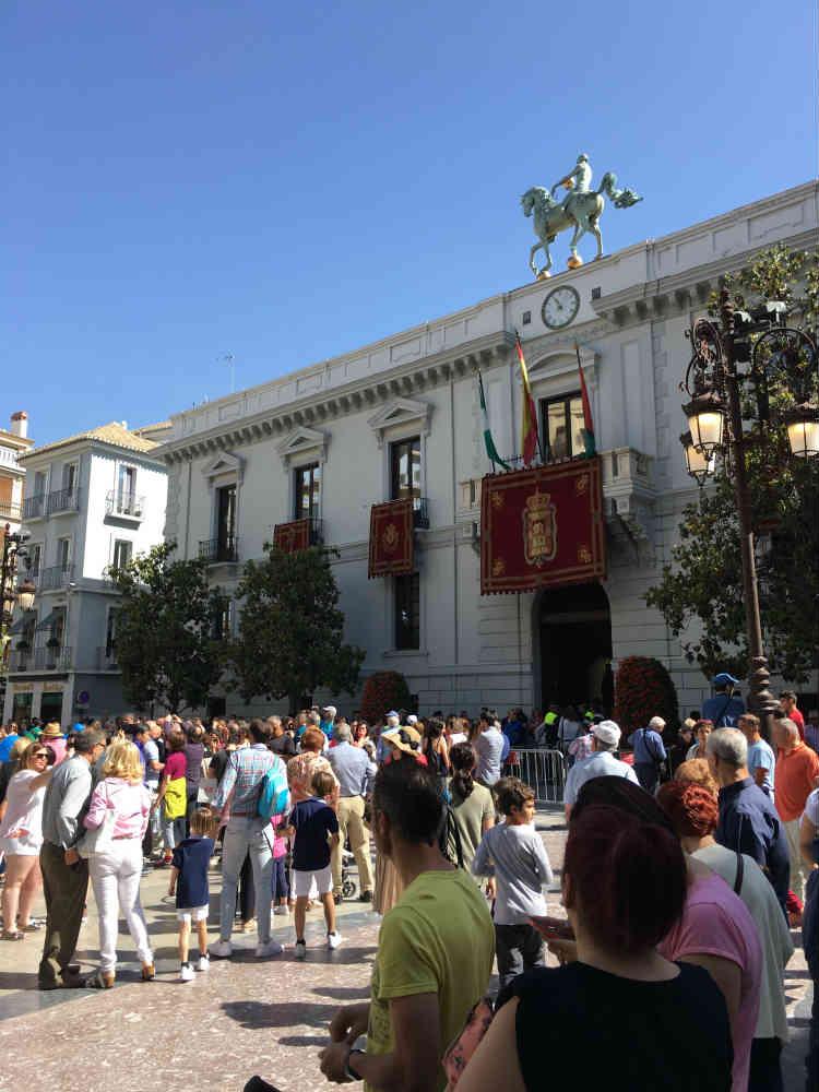 Plaza del Carmen. Ayuntamiento de Granada
