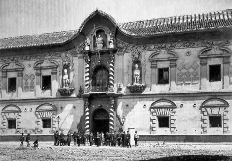 Puerta de los ladrilleros. Bibataubín. Granada