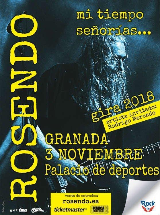 Rosendo Concierto de Despedida - Palacio de Deportes (03/11/18)
