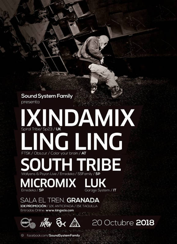Sound System Family Octubre - Sala El Tren (20/10/18)