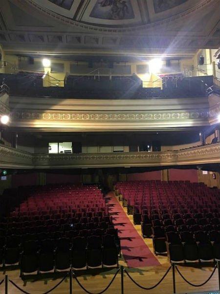 Interior del Teatro Isabel la Católica Granada