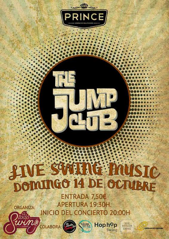 The Jump Club. Live Swing Music 2018 - Sala Prince