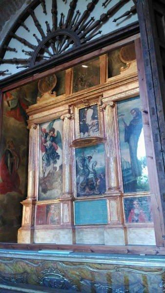Retablo de Nuestra Señora de la Antigua, obra de Diego de Navas el Joven.