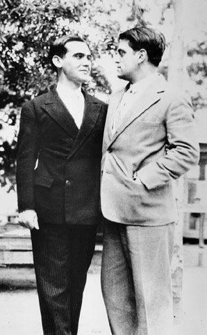 Garcia Lorca y Luis Buñuel