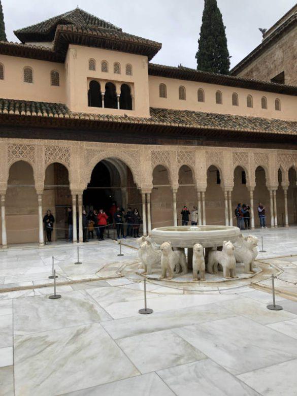 Patio de los Leones. Alhambra
