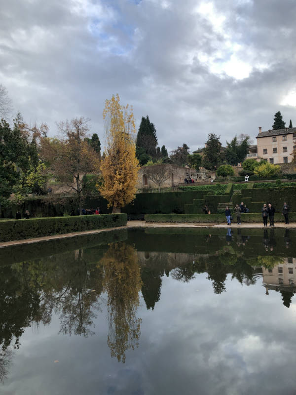Estanque del Partal, Alhambra.