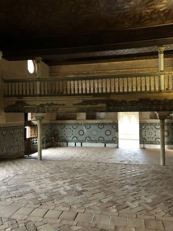 Interior del Mexuar, Alhambra