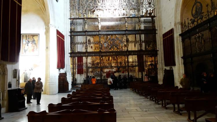 Interior de la Capilla Real de Granada