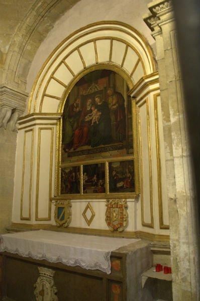 Capilla de Pérez del Pulgar en el Sagrario de Granada.