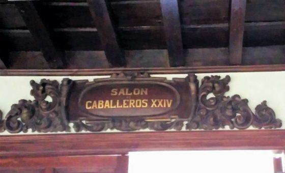 Salón de Caballeros XXIV.