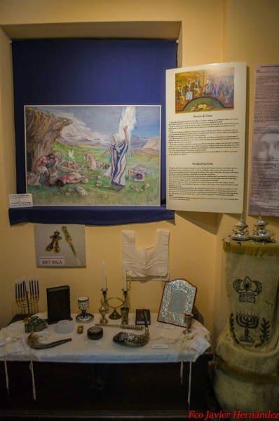 Sala con Objetos judíos.