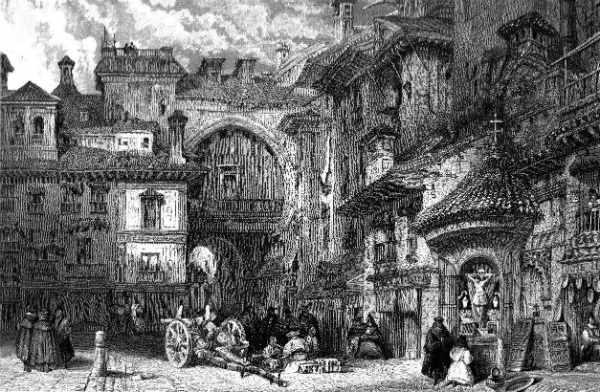 Grabado de David Roberts. 1830.