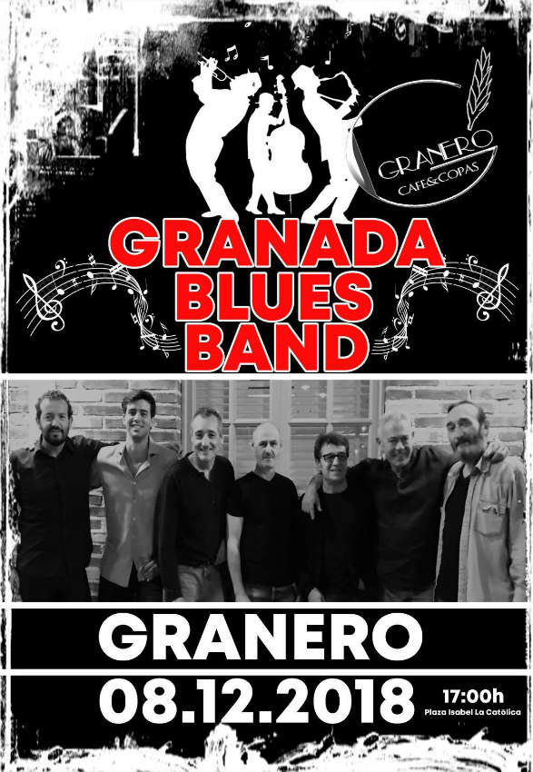 Blues Band Granada - Granero Copas (8/12/18)