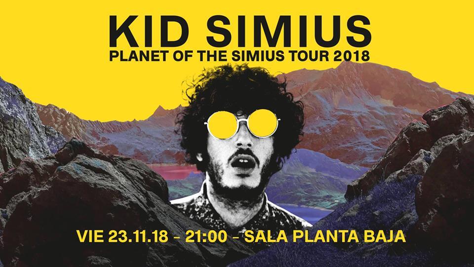 Kid Simius - Sala Planta Baja ( 23/11/18)