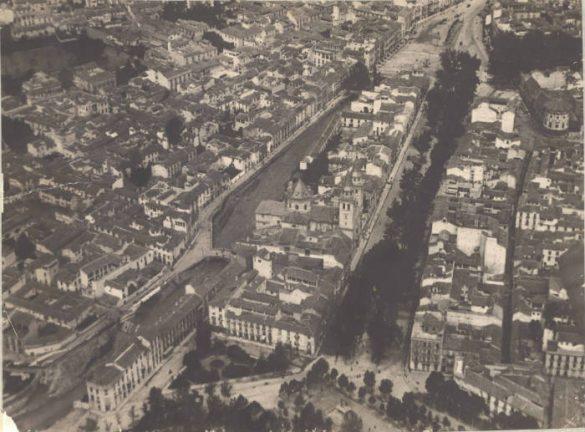 Acera de Darro, barrio de San Isidro, Humilladero, barrio de los frailes y el Salón