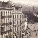 Acera del Daro. 1885-1890. Granada