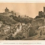 Alhambra y Torres Bermejas en el siglo XIX
