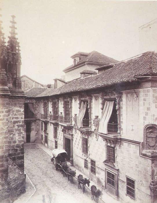 Antiguo Ayuntamiento.La Madraza, 1885-1890.