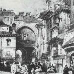Arco de las orejas 1830. Granada
