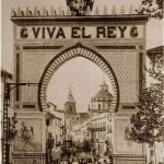 Arco triunfal San Juan de Dios Alfonso XIII. Granada