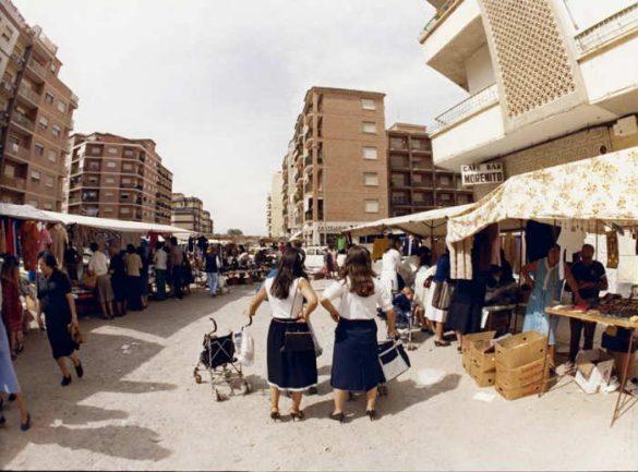 Avenida Don Bosco antigua. Marcha Verde. Bar Morenito. Ahora junto a La Isla. Granada 2